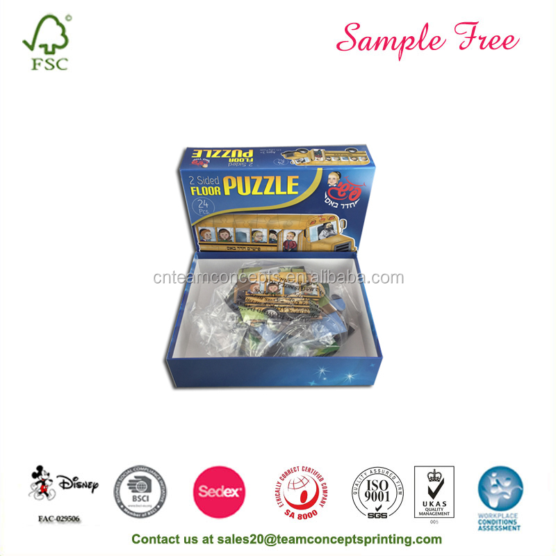 Best Quality Greyboard Small Pieces Jigsaw Puzzles