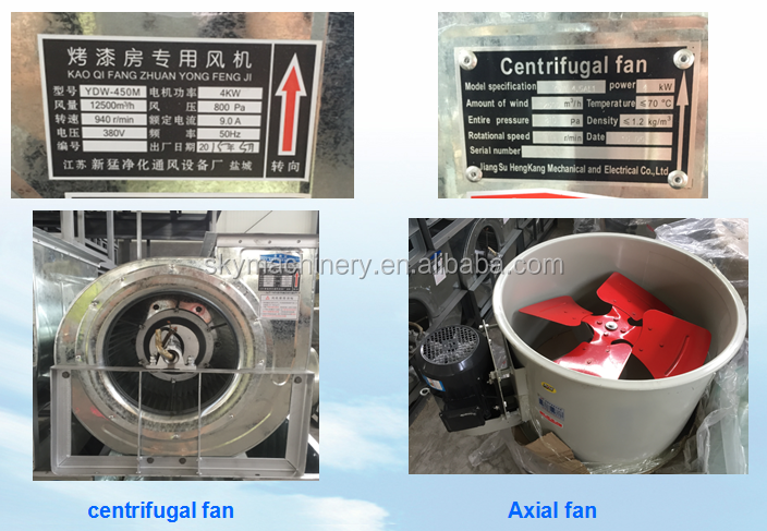 Made in China car spraying machine/car spray booth/auto body paint booth with CE