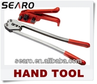 Manual Strapping Tool use on PP PET strap Tensioner and Sealer