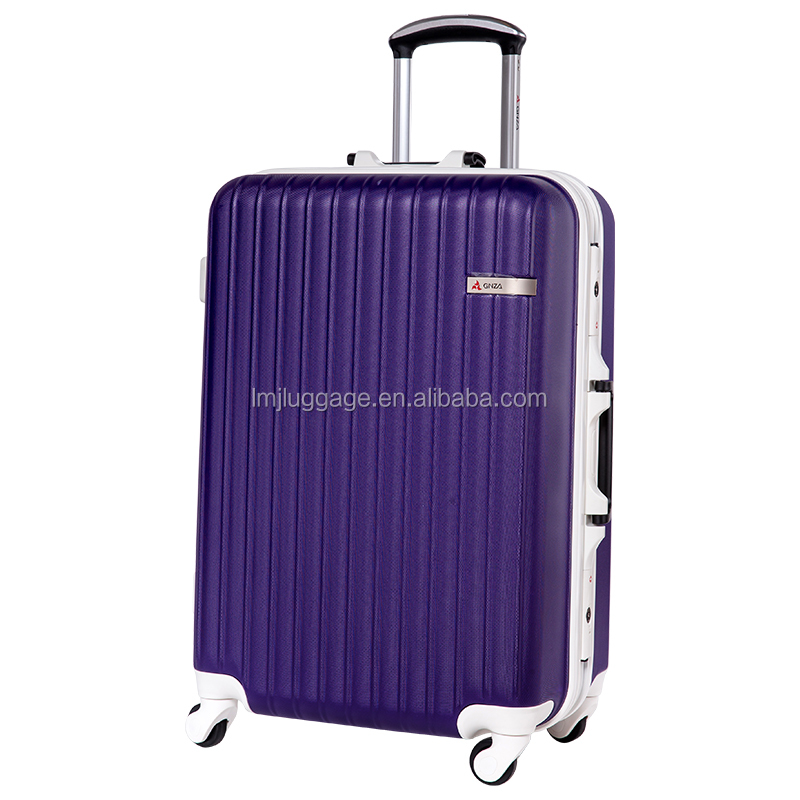 PC trolley luggage/travel suitcase with built in weight scale
