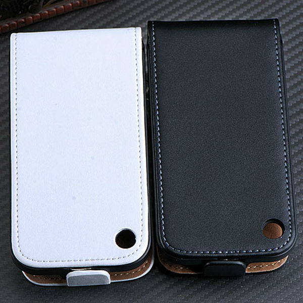 Hot Seller Real Cow Leather Case For iPhone 3G 3GS Flip Leather Cover For iPhone 3G 3GS Bar Cover For iPhone 3G 3GS RCD03249