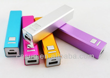 Customized logo 2200mah portable mobile power bank with cheap price
