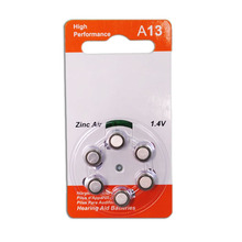 PR48/A13 Super Quality zinc air 1.4V Hearing Aid Battery A13 New KingKong product Outperforms