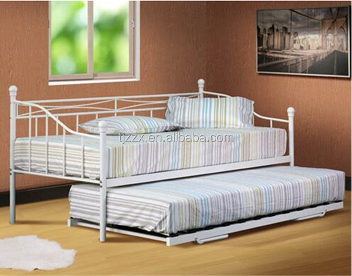 Hot selling Bedroom Furniture Day Single Metal Beds for Living Room