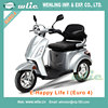 Best selling electric scooter for germany france female 800W 3 wheel with Euro 4 EEC COC (E-Happy Life I)