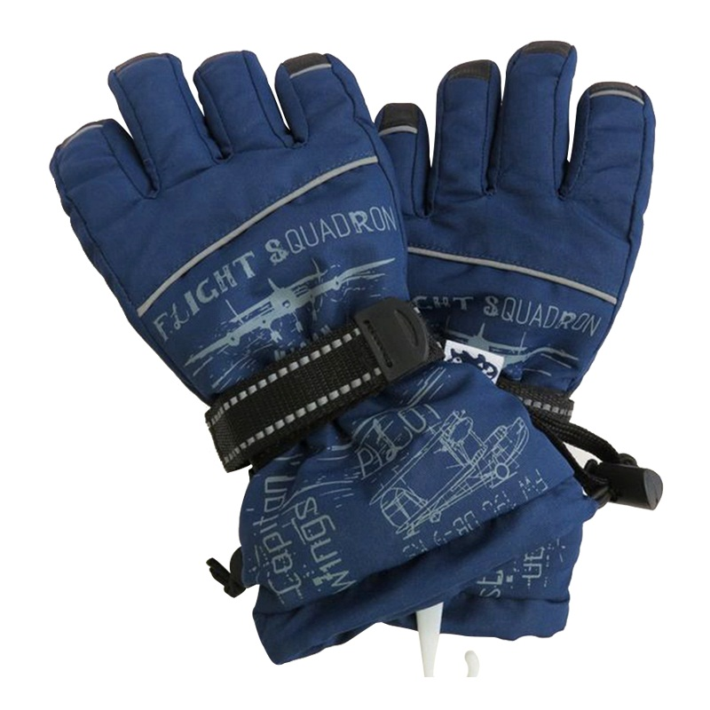 Waterproof Snow Boarding and Thinsulate Leather Skiing Glove
