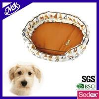 2016 Wholesale custom logo Cheap pet washable Soft cozy dog bed luxury