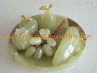 ONYX FRUITS PLATES HANDICRAFTS FOR KITCHEN DECOR