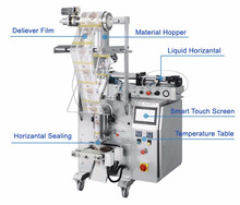 Full Automatic Liquid Sachet Pure Water Filling and Packing Machine