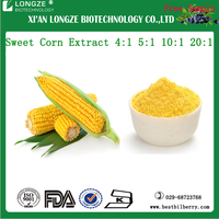 Spray dried & Freeze dried Sweet Corn Extract Powder/Zea mays L. Extract 4:1 5:1 10:1 20:1