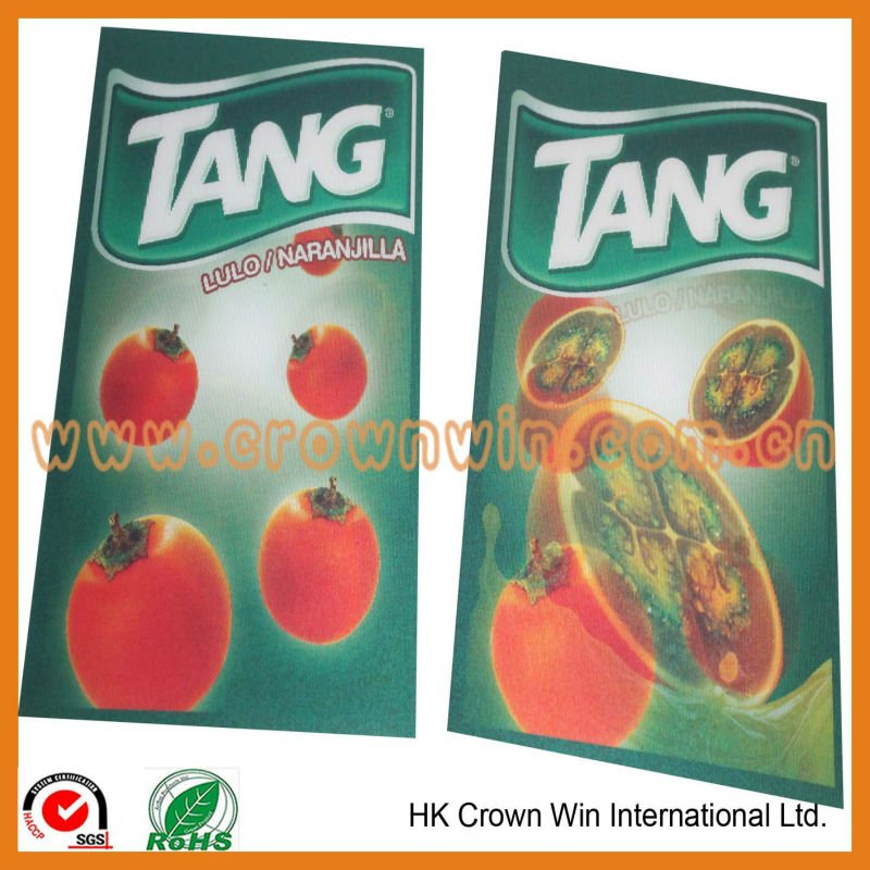 3D Lenticular Logo Promotion Card Supplier
