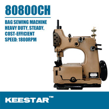 Keestar 80800CH single needle double thread heavy duty container bag sewing machine