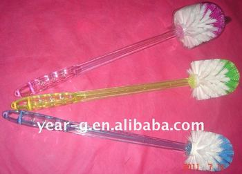 plastic toilet brush with long handle