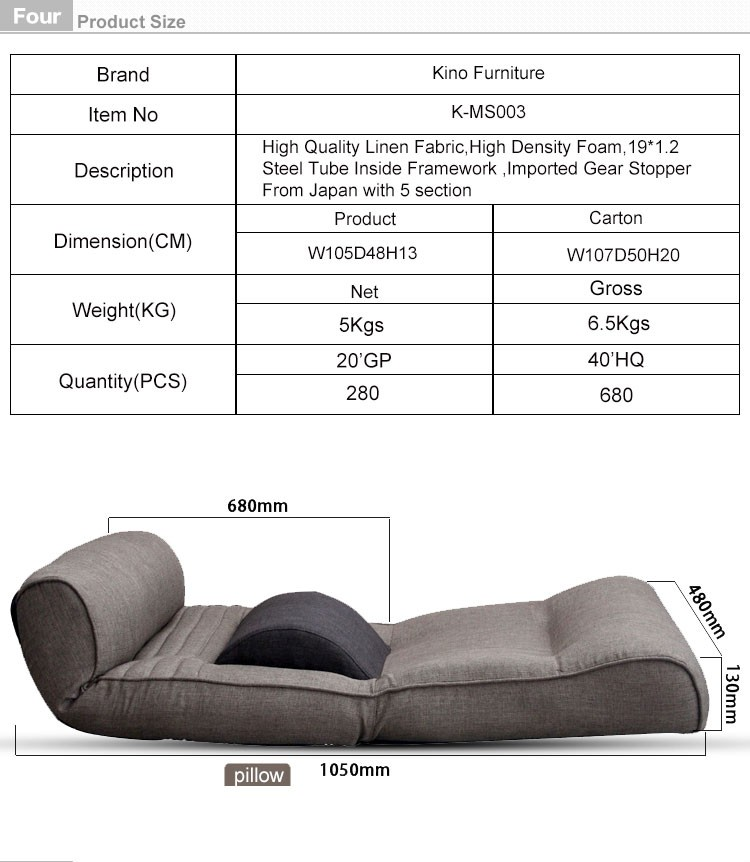 lazy boy recliner single sofa chair furniture waist protect design folding fabric sofa chair