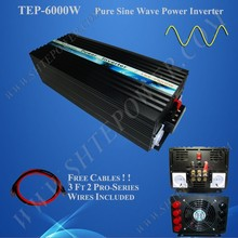 Off grid pure sine wave inverter/converter 6000W 48V dc to ac 220V 230V 240V