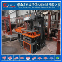 Manual Compressed Earth bamboo pallet brick machin block machine