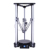 "Newest 3d printer high precision laser engraving kossel delta 3d printer diy kit with 3.5"" touch screen smart leveling"