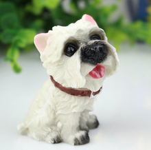 china supplier resin life size dog statues