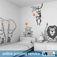 High Quality PVC Film baby wall stickers