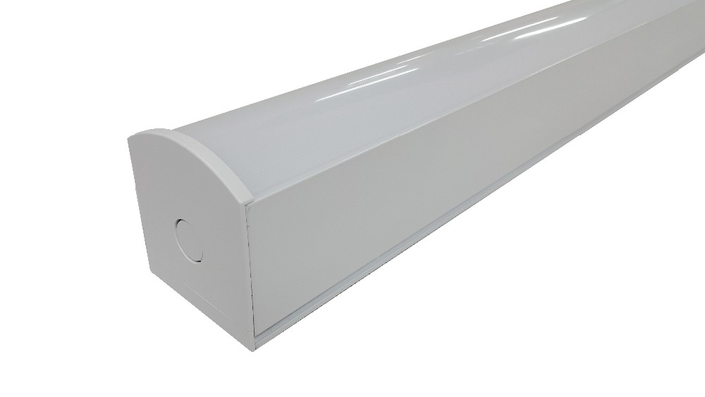 PC len aluminium housing linear series 90w hanging commercial interior light
