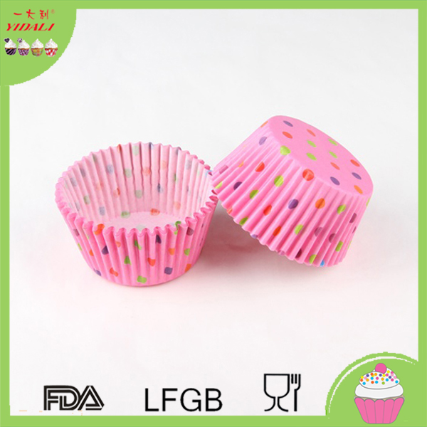 High Quality Party Supplies Paper Baking Cups Cupcake Cases