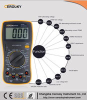 Best standard low price digital multimeter dt9205a manual CR9025