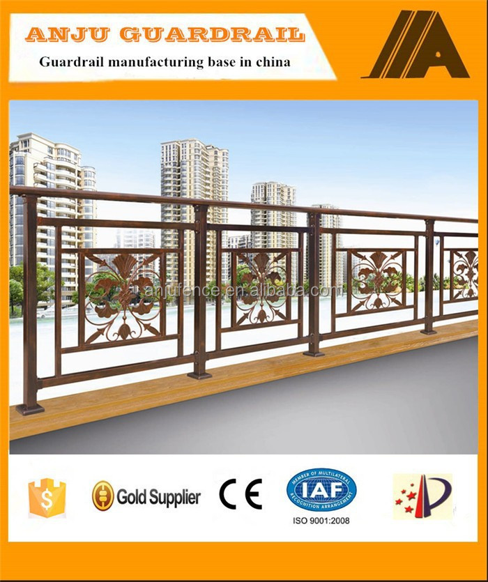 Balcony steel grill designs for outdoor usage YT004