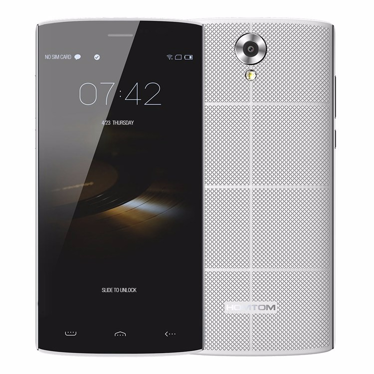 Free Shipping Original HOMTOM HT7 5.5 Inch Android 5.1 Cell phone Quad Core 3G Dual SIM Mobile Phone 1G/8G Smartphone