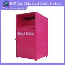 JNZ out door steel shoes recycling box