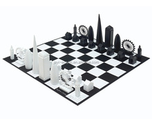 Factory Custom Luxury Plastic Marble Acrylic Outdoor Chess Set