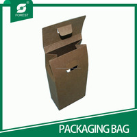 NEW PRODUCT KRAFT PAPER BAG WITH WINDOW PAPER BAG FOR FLOUR PACKAGING