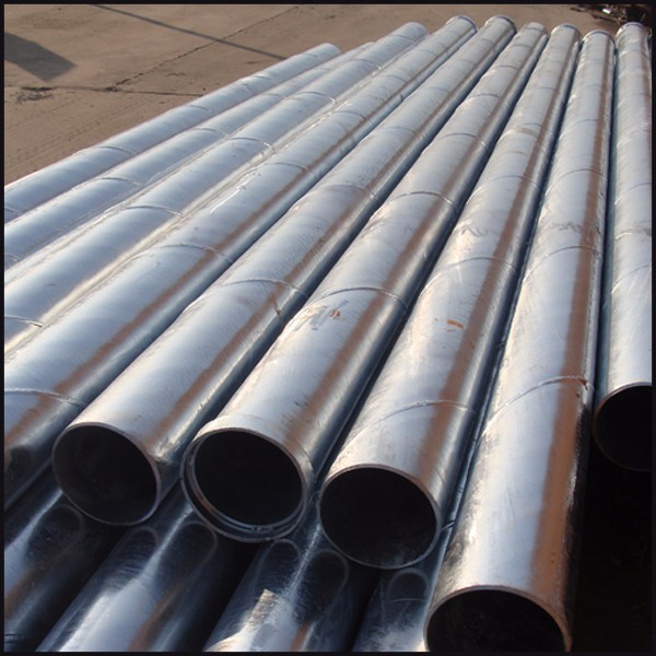 Large diameter drainage tube ssaw corrugated steel pipe