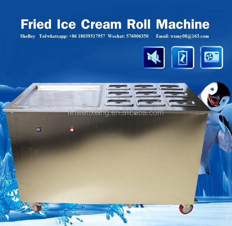 Alibaba france fried ice cream machine roll food machinery