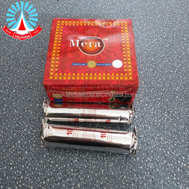 tobacco flavor shisha charcoal wood charcoal tablet with attractive price