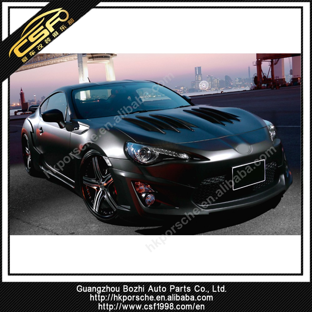 Wicket looking FRP body kit for GT86 in WD style