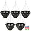 Easy Fill Decorative Plastic Hanging Basket