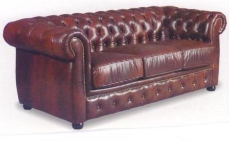 Winchester divano in pelle divani di soggiorno id prodotto for Divano winchester