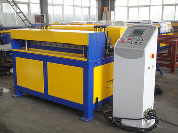 PLC Mitsubishi System CNC Autofold Automated Ducting Machine Air Duct Manufacture Auto Line III