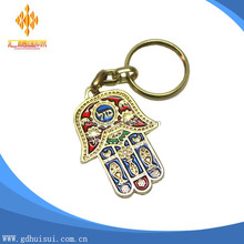Custom Protection Prayer Hamsa Evil Eye Keychain