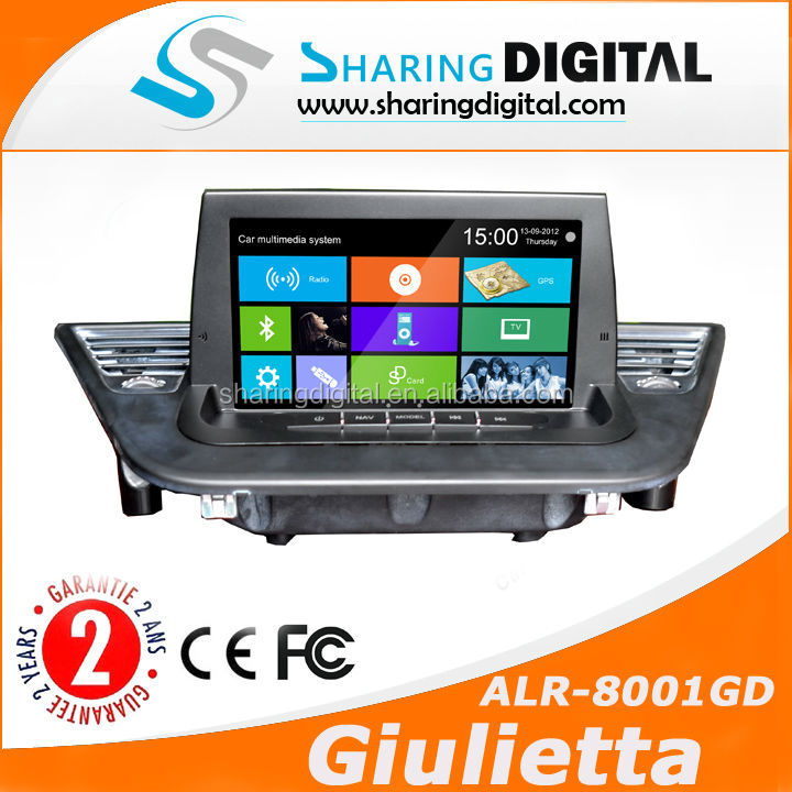 ALR-8001GD Car DVD/GPS with Navi for ALFA ROMEO GIULIETTA 2009-2014