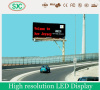 China led great wall strip solar power outdoor led sign franchise