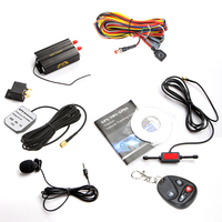 Vehicle Car GPS Tracker TK103B with Remote Control GSM Alarm Anti-theft/car alarm system