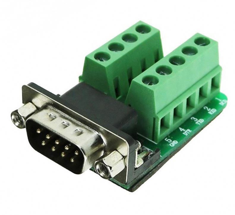 High-grade Uno Male Adapter Signals Terminal Module RS232 Serial To Terminal DB9 Connector for Uno R3