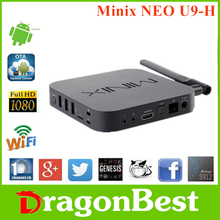 2017 hot sale Minix NEO U9-H S912 2G 16G smart tv dongle With Bottom Price Android 6.0 TV Box