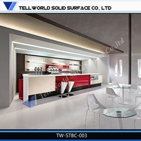 Factory supply new design high quality breakfast bar counter design