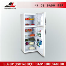 350L home refrigerator double door, fridge and freezer