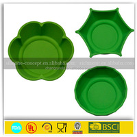 2015 New unbreakable collapsible silicone bowl dog