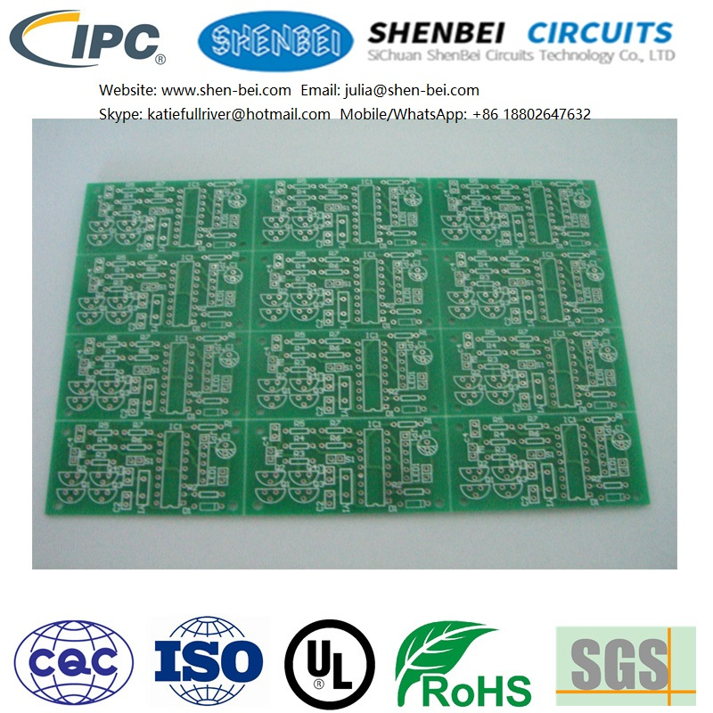 development board touch screen pcb, circuit board for temperature control