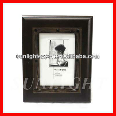 antique dark black photo frame/wall hanging picture frame