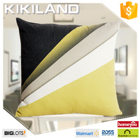 100% polyester stripe digital printing cushion cover for office chair